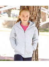 Kinder Sweat Jacke mit Kapuze